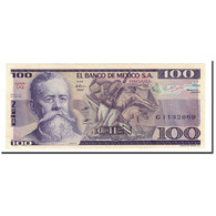 Billet, Mexique, 100 Pesos, 1981-1982, 1982-03-25, KM:74c, SPL+ - Mexico