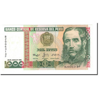 Billet, Pérou, 1000 Intis, 1986-1988, 1988-06-28, KM:136b, NEUF - Pérou