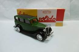 Solido / Hachette - FORD V8 1936 MATFORD Vert BO 1/43 - Solido