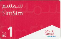 BAHRAIN - Batelco Prepaid Card BD 1, Exp.date 08/08/08, Used - Bahrain