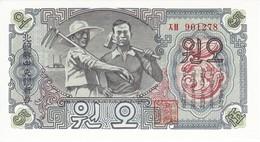 BILLETE DE COREA DEL SUR DE 5 WON DEL AÑO 1947 (BANKNOTE) SIN CIRCULAR-UNCIRCULATED - Corée Du Nord