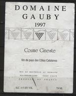 Domaine De Gauby 1997 Coume Gineste - Languedoc-Roussillon