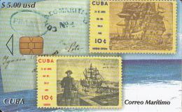 CUBA - Stamps, Correo Maritimo, Tirage 25000, 02/05, Used - Cuba