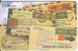 CUBA - Stamps, Cubierta De Correo Aereo, Tirage 25000, 02/05, Used - Cuba