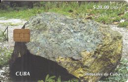 CUBA - Minarales De Cuba/Chalcopyrite, Tirage 25000, 02/05, Used - Cuba