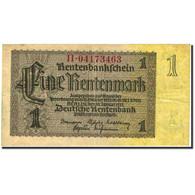 Billet, Allemagne, 1 Rentenmark, 1937, 1937-01-30, KM:173b, TB+ - [ 3] 1918-1933 : Weimar Republic
