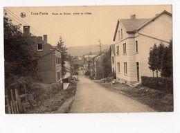 72 - TROIS - PONTS  -  Route De Brume - Entrée Du Village - Trois-Ponts