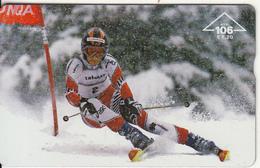 AUSTRIA - Ski, CN : 003A, Tirage 30000, 10/00, Used - Austria