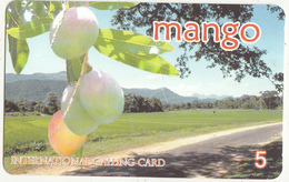 AUSTRIA - Mango Prepaid Card 5 Euro, Used - Austria