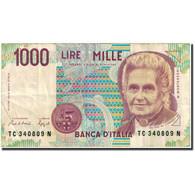 Billet, Italie, 1000 Lire, 1991, 1991, KM:114a, TB+ - [ 2] 1946-… : Républic
