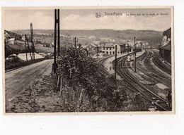 83 - TROIS - PONTS  -  La Gare Vue De La Route De Wanne - Trois-Ponts