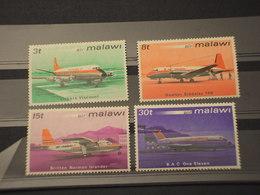 MALAWI - 1972 AEREI  4 VALORI - NUOVI(++) - Malawi (1964-...)