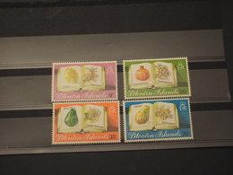 PITCAIRN - 1982 FIORI  4 VALORI - NUOVI(++) - Pitcairn