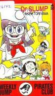 Télécarte Japon - MANGA - WEEKLY JUMP - DR SLUMP * AKIRA TORIYAMA (16.142) ANIME Japan Movie Phonecard Telefonkarte - BD