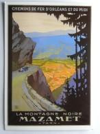 CP (81) Tarn - MAZAMET - La Montagne Noire - Chemin De Fer D'Orléans Et Du Midi - Mazamet