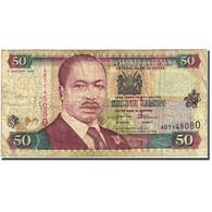Billet, Kenya, 50 Shillings, 1996-1997, 1996-01-01, KM:36a2, TB - Kenya