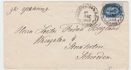 Russia Latvia - Cover Sent From Majorenhof To Stockholm 1889, Ref 02-14 - 1857-1916 Empire