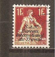 Suiza-Switzerland Nº Yvert Servicio 42 (usado) (o) (con Goma) - Oficial