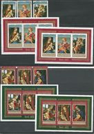 BURUNDI 2 Séries Et 4 Blocs Noel 1972  (6+4blocs)  O Et ** Cote 7,00 $ 1972 - 1970-79: Neufs