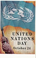 U.S.A. - UNITED NATIONS DAY OCTOBER 24, 1953 - F/P - N/V - Eventi