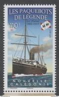 NEW CALEDONIA , 2017, MNH, SHIPS, LEGENDARY PAQUEBOTS, LE NATAL, 1v - Barche