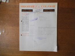 COUSOLRE NORD MIROITERIES DE COUSOLRE MEUBLES & BIBELOTS EN GLACE VERRES ARGENTES COURRIER DU 4-1-39 - France