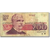 Billet, Bulgarie, 200 Leva, 1991-1994, 1992, KM:103a, TB - Bulgaria