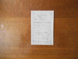 CLARY ECOLE COMMUNALE DIRIGEE PAR M.DERUELLE DISTRIBUTION DES PRIX LE 24 AOUT 1890 L'INSTITUT G.DERUELLE - Diplome Und Schulzeugnisse