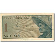 Billet, Indonésie, 1 Sen, 1964, 1964, KM:90a, SUP+ - Indonesia