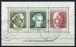 BRD 1969 // Michel 596/598 Block 5 O (019.523) - BRD
