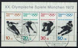 BRD 1971 // Mi. 684/687 O Block 6 (019..524) - BRD