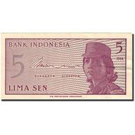 Billet, Indonésie, 5 Sen, 1964, 1964, KM:91a, SUP - Indonesia