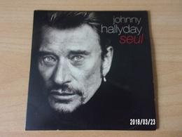 CD 2 Titres - Johnny Hallyday - Seul - Rock
