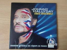 CD 2 Titres - Johnny Hallyday - Tous Ensemble - Rock