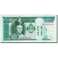 Billet, Mongolie, 10 Tugrik, 2000-2003, 2007, KM:62d, NEUF - Mongolia