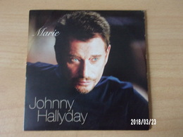CD 2 Titres - Johnny Hallyday - Marie - Rock