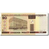 Billet, Bélarus, 20 Rublei, 2000, 2000, KM:24, NEUF - Belarus