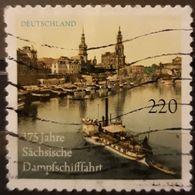 ALEMANIA 2011 The 175th Anniversary Of The Saxon Steamship Company. USADO - USED. - [7] République Fédérale