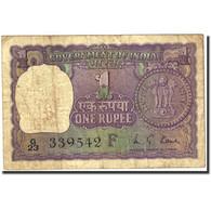 Billet, Inde, 1 Rupee, 1957-1963, 1973, KM:77m, TB - India