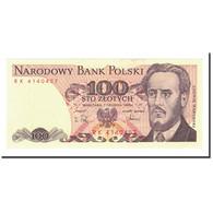 Billet, Pologne, 100 Zlotych, 1975-1988, 1988-05-01, KM:143e, SPL - Poland