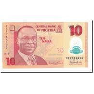 Billet, Nigéria, 10 Naira, 2009, 2011, KM:39c, NEUF - Nigeria