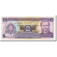 Billet, Honduras, 2 Lempiras, 1998-2008, 2004-08-26, KM:80Ae, NEUF - Honduras
