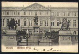 P01 - Brussel / Bruxelles - Bibliothèque Royale - Monuments, édifices