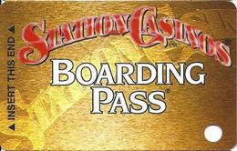 Station Casinos Las Vegas, NV - BLANK Slot Card Copyright 2000 - 4 Logos / Boulder Logo Over Information - Casino Cards