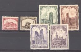 06856  -  Belgique  :  Yv   267-72  ** , * - Belgique
