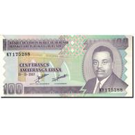 Billet, Burundi, 100 Francs, 1993-1997, 2007-10-01, KM:37f, NEUF - Burundi