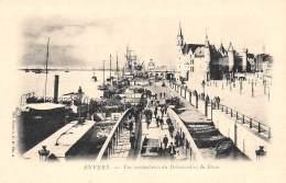 ANVERS - Vue Instantanée Du Débarcadère Du Steen - Antwerpen