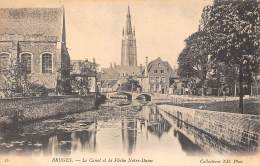 BRUGES - Le Canal Et La Flèche Notre-Dame - Brugge