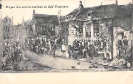 BRUGES - Les Anciens Habitués Du Café Flessinghe - Brugge