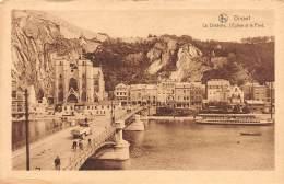DINANT - La Citadelle, L'Eglise Et Le Pont - Dinant